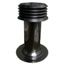Complete Marine Flue, universal for Morco, Bosch,Paloma,Vaillant etc in BLACK